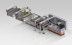 POE太阳能胶膜生产线