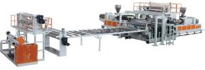 PVC地板革生产线